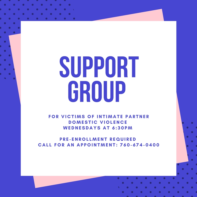 Support Group for Victims of Intimate Domestic Violence - English Only @ Shelter From The Storm - Community Counseling Center | Palm Desert | California | United States